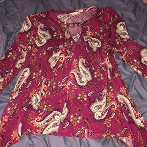 Altard state paisley top